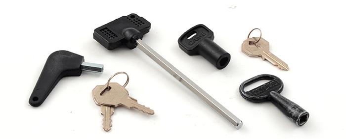 ключ для разблокировки ворот