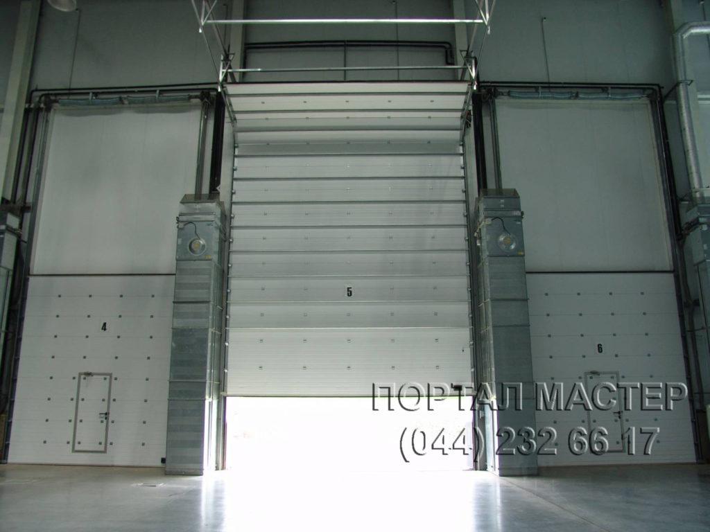 Ворота промышленные фото 1